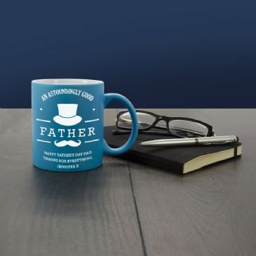 Astoundingly Good Father Personalised Coloured Mug